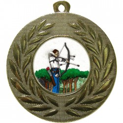 Gold Archery Medal 50mm