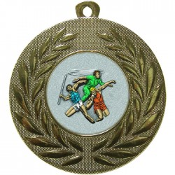Gold Javelin Discus Shot Put Medal 50mm