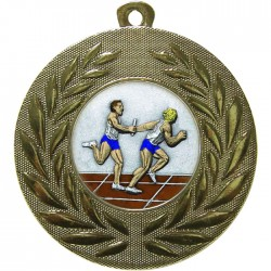 Gold Relay Medal 50mm
