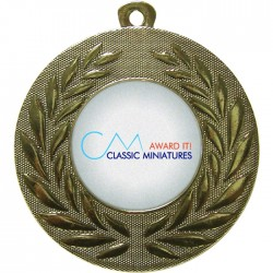 Bespoke Centre Holder Medals