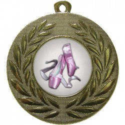 Gold Ballet Medal 50mm