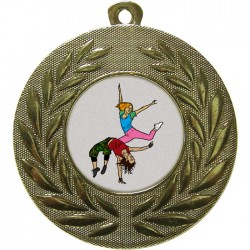 Gold Street Dance Medal 50mm