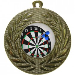 Gold Darts Medal 50mm