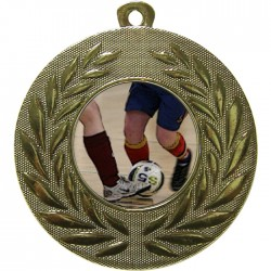 Gold Futsal Medal 50mm