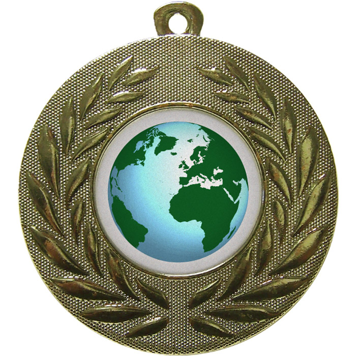 60mm Globe Gold
