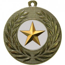 Gold Star Medal 50mm