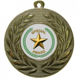 Gold Special Star Medal 50mm