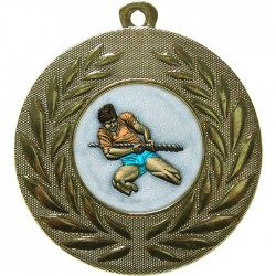Gold Tug of War Medal 50mm