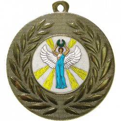 Gold Victory Female Medal 50mm
