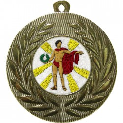 Gold Victory Male Medal 50mm