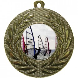 Gold Windsurfing Medal 50mm
