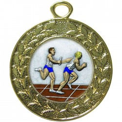Gold Relay Medal 45mm
