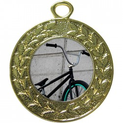 Gold BMX Medal 45mm