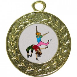 Gold Street Dance Medal 45mm
