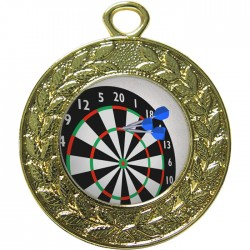 Gold Darts Medal 45mm