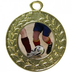 Gold Futsal Medal 45mm