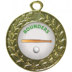 Gold Rounders Medal 45mm