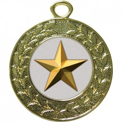 Gold Star Medal 45mm