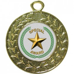 Gold Special Star Medal 45mm