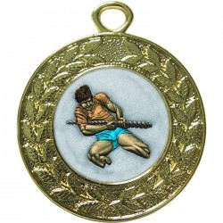 Gold Tug of War Medal 45mm