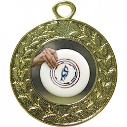Gold Frisbee Medal 45mm