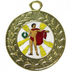 Gold Victory Male Medal 45mm