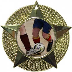 Gold Futsal Medal 48mm