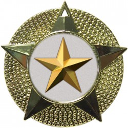 Gold Star Medal 48mm