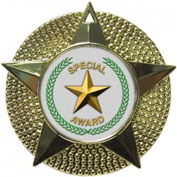 Gold Special Star Medal 48mm