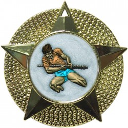 Gold Tug of War Medal 48mm