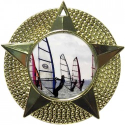 Gold Windsurfing Medal 48mm