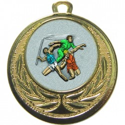 Gold Javelin Discus Shot Put Medal 40mm