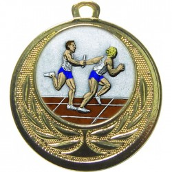 Gold Relay Medal 40mm