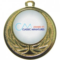 Gold Bespoke Medal 40mm