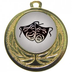 Gold Drama Medal 40mm