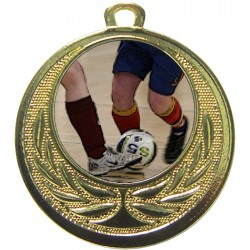 Gold Futsal Medal 40mm