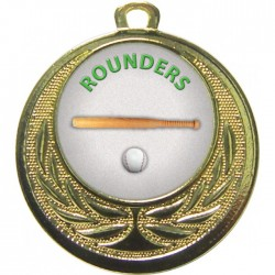 Gold Rounders Medal 40mm