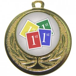 Gold Stamps Medal 40mm