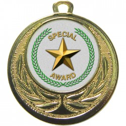 Gold Special Star Medal 40mm