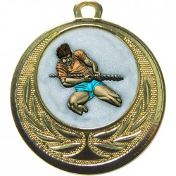 Gold Tug of War Medal 40mm