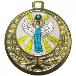 Gold Victory Female Medal 40mm