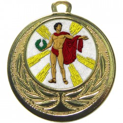 Gold Victory Male Medal 40mm