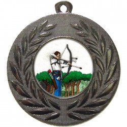Silver Archery Medal 50mm