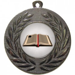 Silver Book Medal 50mm