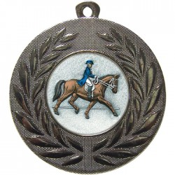 Silver Dressage Medal 50mm