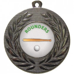 Silver Rounders Medal 50mm