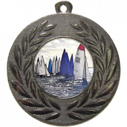 Silver Sailing Medal 50mm