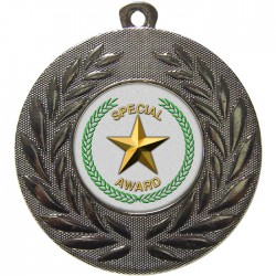 Silver Special Star Medal 50mm