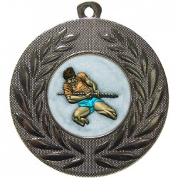 Silver Tug of War Medal 50mm