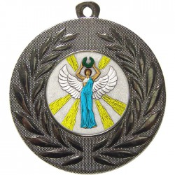Silver Victory Female Medal 50mm